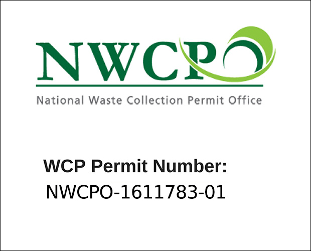 National Waste Collection Permit held by Keltic Recovery